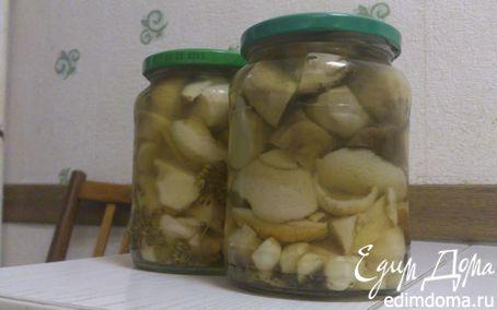 Рецепт Белые грибочки от бабушки Люси