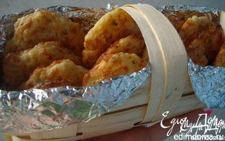 Рецепт Печенье с зеленым луком и сыром