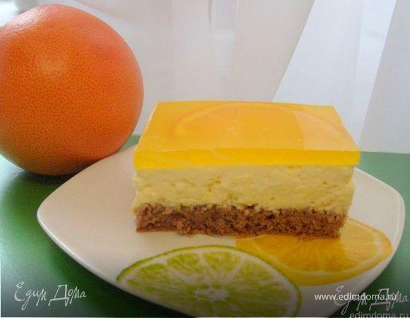 Апельсиновые пирожные