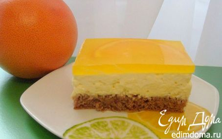 Рецепт Апельсиновые пирожные