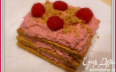 Рецепт Малиновое пирожное