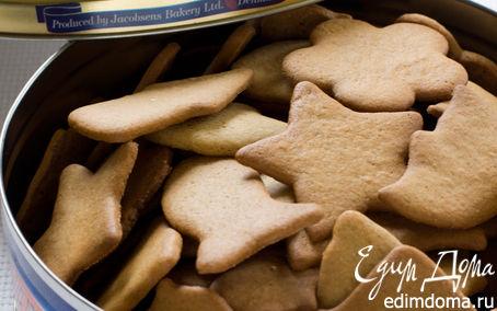 Рецепт Имбирное печенье