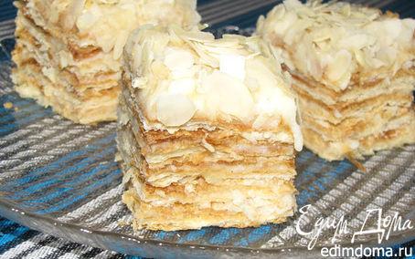 """Рецепт Назад в СССР: торт """"Наполеон"""""""