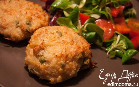 Рецепт Куриные котлетки с картофелем и сыром