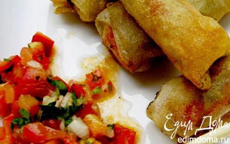Рецепт Спринг-роллы, или вьетнамские блинчики Нэм