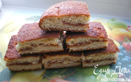 Рецепт Назад в СССР: Ленивый пирог