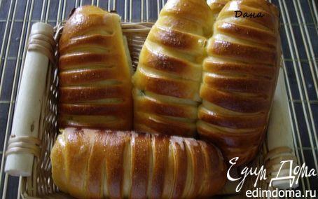 "Рецепт Булочки ""парижанки"" (Cream de parisienne)"