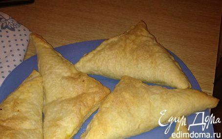 Рецепт слоеные пирожки с тыквой и репчатым луком