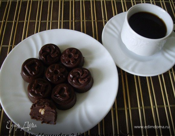 Шоколадные конфетки с чили