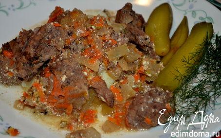 Рецепт Назад в СССР: Мясо, тушенное по-суздальски
