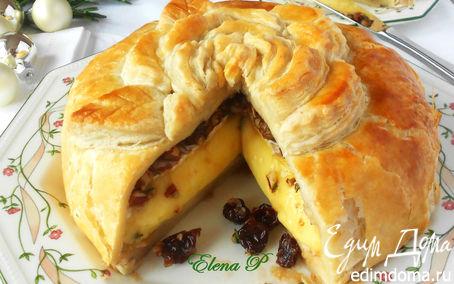 Рецепт Пирог с сыром бри