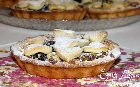 Рецепт Бельгийские тарталетки с фруктово-ореховой начинкой