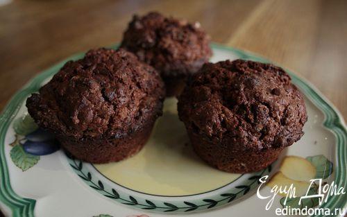 Рецепт Маффины «Три шоколада»