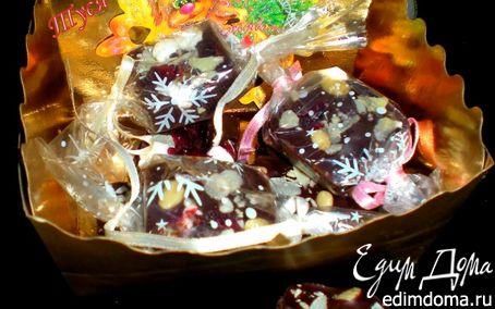 Рецепт Новогодние шоколадные конфетки