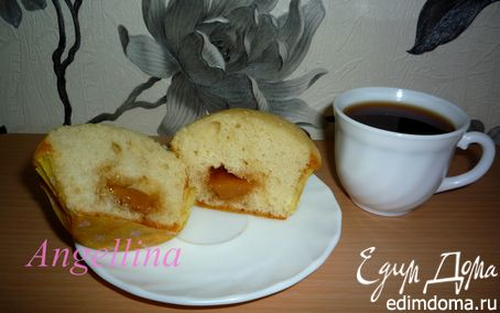 Рецепт Кексы с карамелью