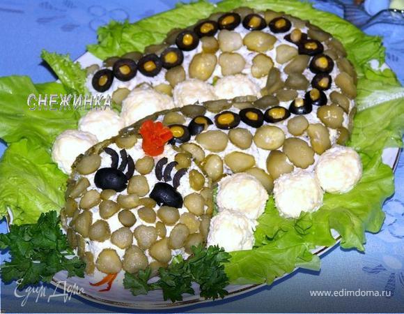 Салат снежинка рецепт с фото картинки
