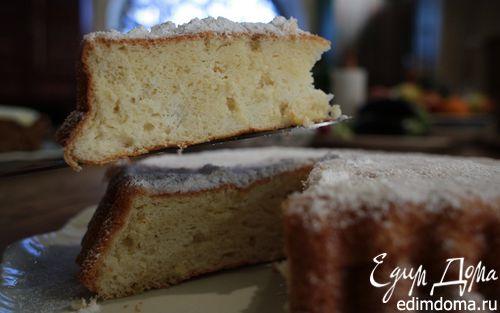 Рецепт Лимонный пирог с просекко