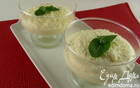 Рецепт Мусс из белого шоколада и лимона