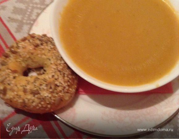 Чорба и симит (чечевичный суп с бубликами), или обед по-турецки