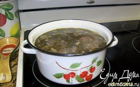 Рецепт Суп перловый с грибами (Mushroom Barley Soup)