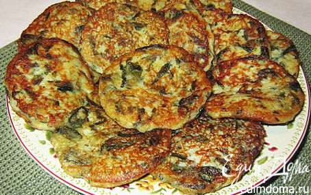 Рецепт Картофельные котлетки с творогом и шпинатом