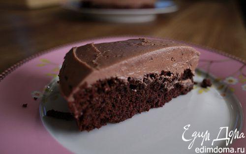Рецепт Очень шоколадный пирог