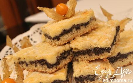 Рецепт Маковый пирог (Mohnkuchen)