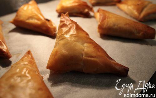 Рецепт Пирожки с тыквой, изюмом и фетой