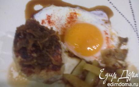Рецепт Куриная котлета с имбирным соусом