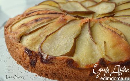 Рецепт Датский пирог с грушами