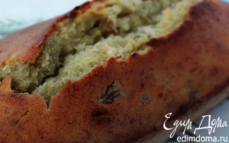 Рецепт Мягкий банановый кекс с изюмом