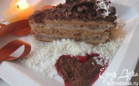 "Рецепт Торт ""Шоколадное сердце"""