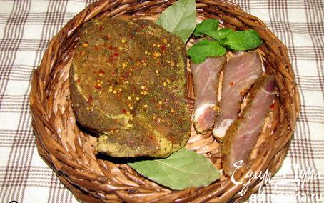 Рецепт Сыровяленое мясо