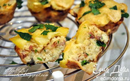 Рецепт Цветная капуста, запеченная с картофелем