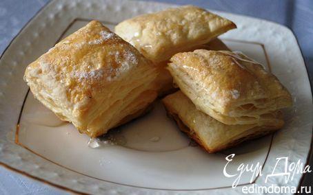Рецепт – Слойки с корицей и медом