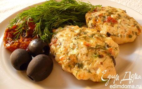 Рецепт Куриные рубленые котлетки с итальянскими нотками