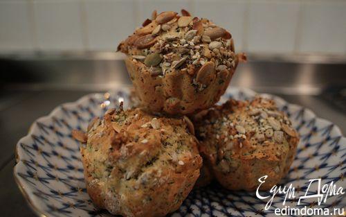 Рецепт Булочки с семечками и зеленью