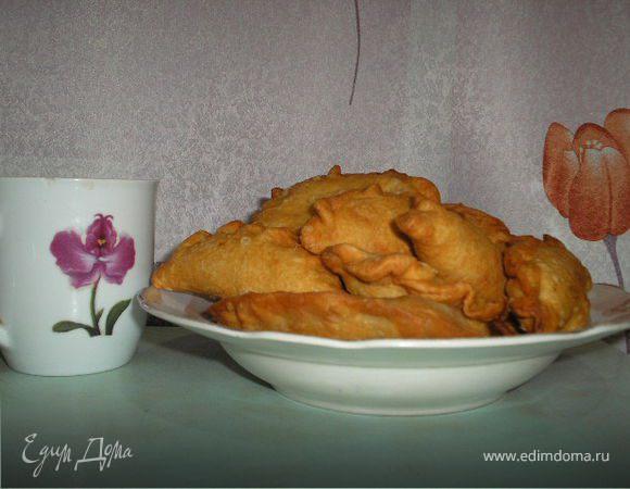 Чебуреки с печенью