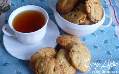 Рецепт Печенье с курагой и кокосовой стружкой
