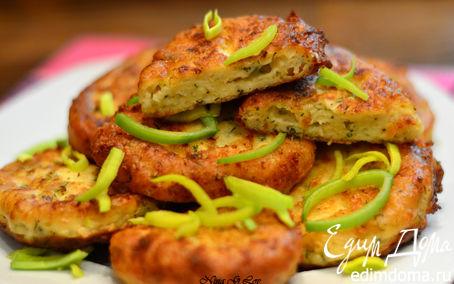 Рецепт Сырные оладушки