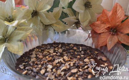 Рецепт Шоколадный шортбред с орехами (shortbread)