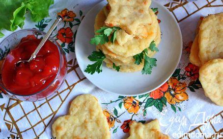 Рецепт Картофельные галеты с сыром