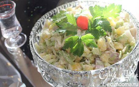 """Рецепт салат """"Под водочку"""""""
