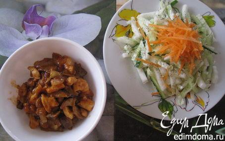 Рецепт Мясо в томатно-устричном соусе по-китайски