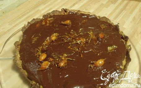Рецепт Карамельно-шоколадный тарт