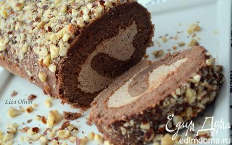 Рецепт Чешский шоколадный рулет