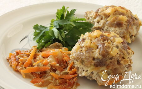 Рецепт Тефтели из рубленого мяса с картофелем