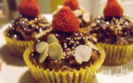Рецепт Шоколадно - банановые маффины от Скарлетт Йоханссон