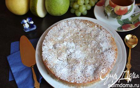 Рецепт Грушево-миндальный пирог