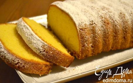 """Рецепт """"Желтенький"""" итальянский кекс с кукурузной мукой (AMOR POLENTA)"""